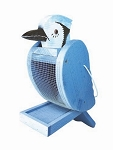 Blue Jay Shape Feeder