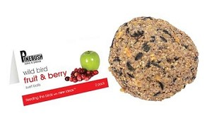 Seed Suet Balls - large - Fruit & Berry